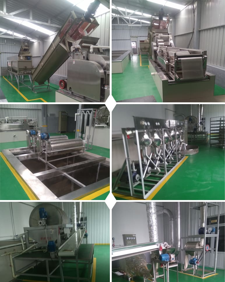 China 200Tons day Sweet Potato Starch Production Line